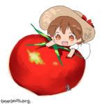 トマトと少女
